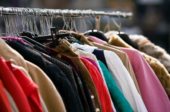 c1d016ea Hvordan å selge brukte klær på ebay. Samle elementer som du ikke vil ha  lenger